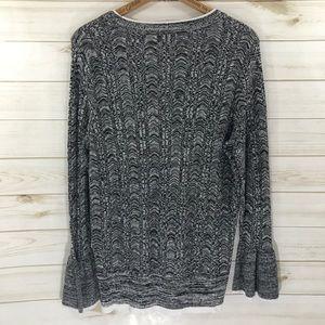96dfe6e9c4 Lane Bryant Sweaters - Lane Bryant Bell Sleeve Sweater